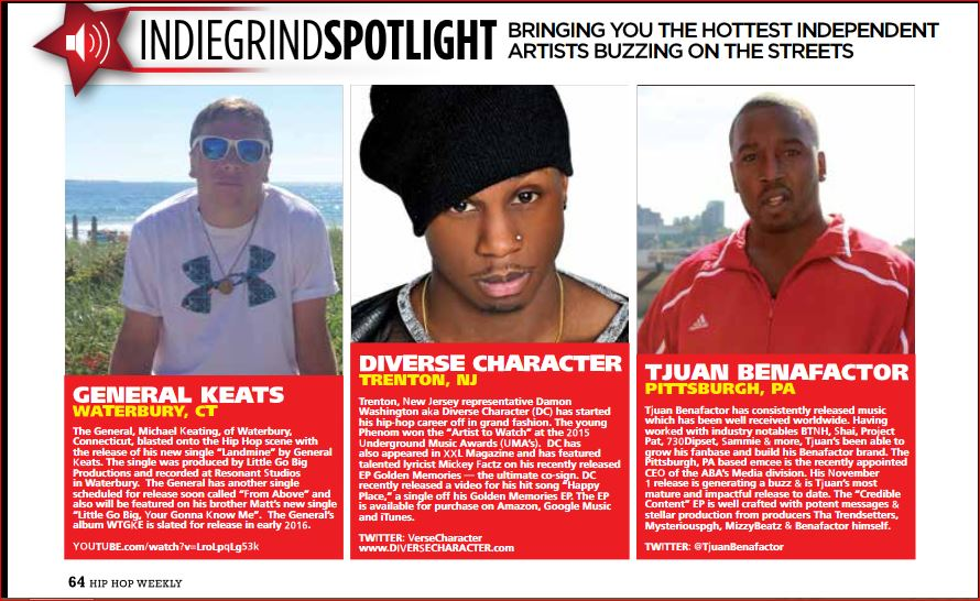 Hip Hop Weekly Submissions