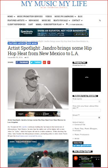ARTIST SPOTLIGHT FEATURED ARTIST