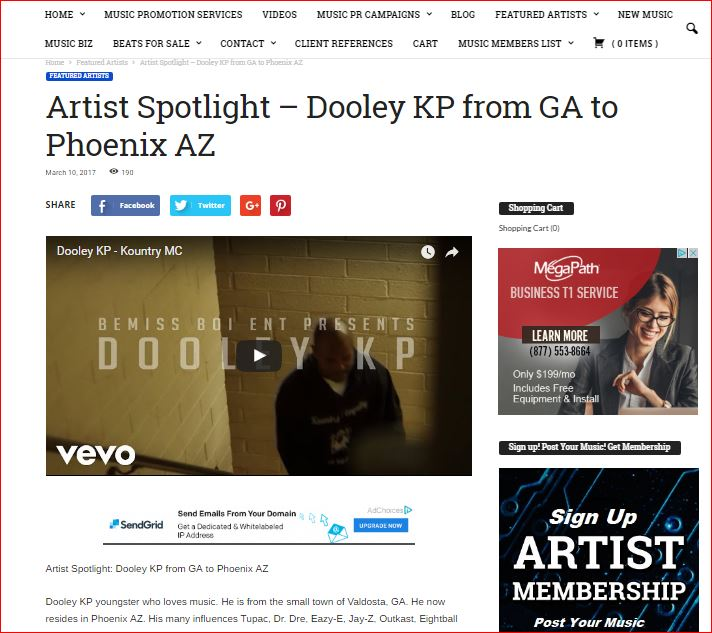 UNSIGNED ARTIST MUSIC PROMOTION