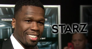 50 Cent Signs 8-figure deal with Starz