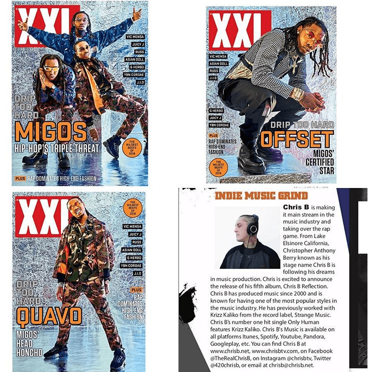 Get Promotion And Featured In XXL Magazine 2019 issues